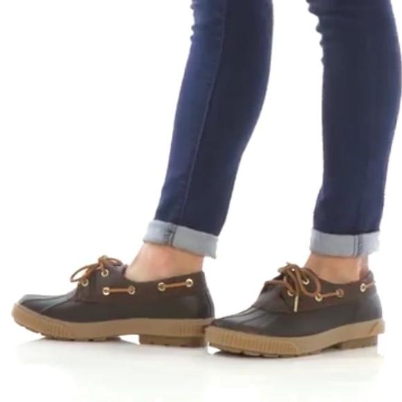 Michael Kors Hyde Waterproof Duck Shoe